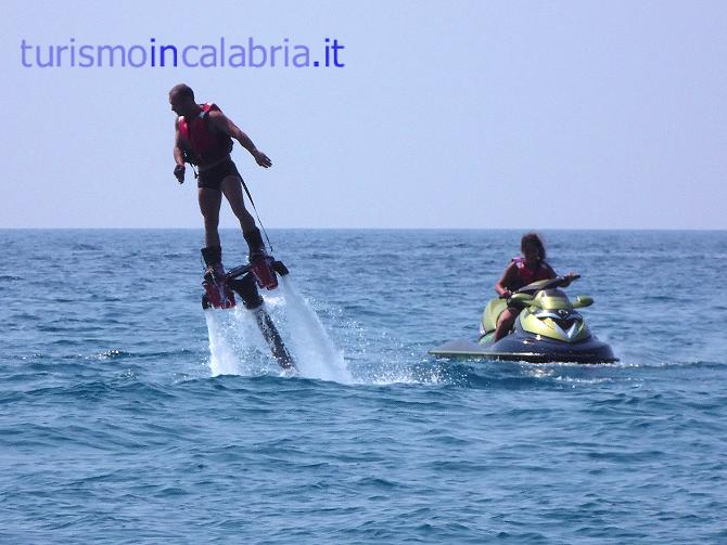 Flyboard in Calabria