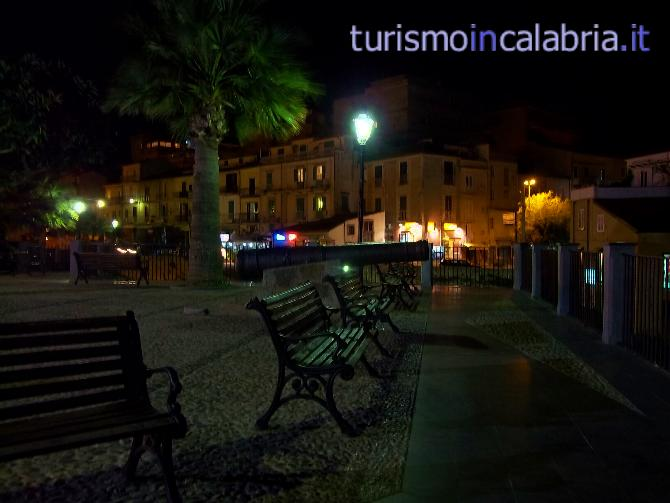 Piazza del Cannone Tropea By Night